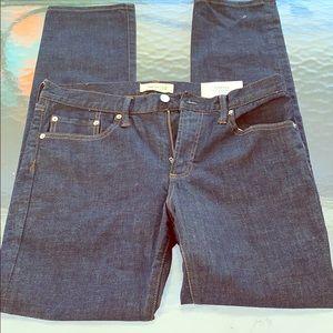 NWT!!! GAP Slim Stretch 31x32 Mid Rise Jeans